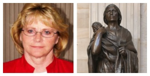 Linda Wurtz statue