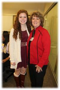 Patricia Pierce with her mentee Katie Delay from Chattanooga, TN.